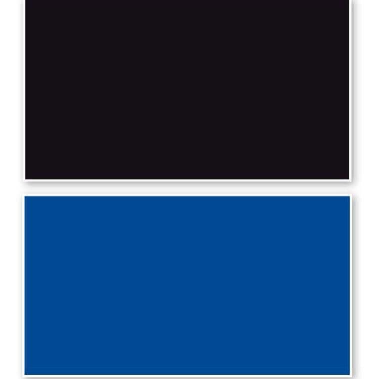 DOUBLE BACKGROUND BLACK/BLUE cm60X15m