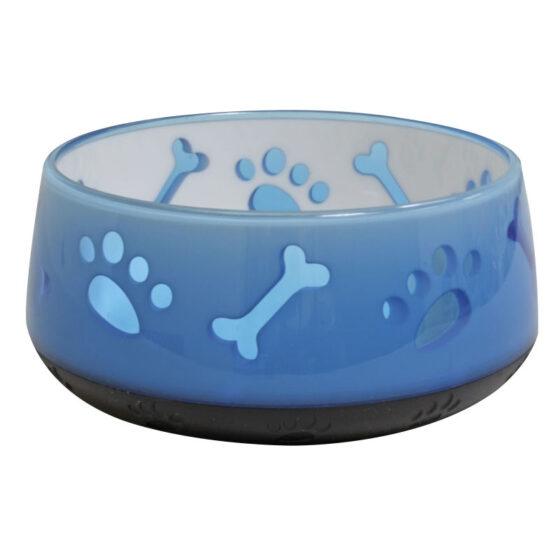 BOWL TPR DOGGY BLUE 400 ML