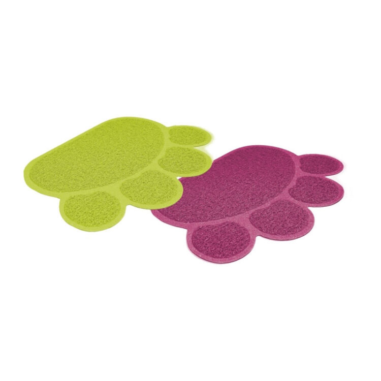 OUTSIDE PAW MAT FOR TOILETTE 40x30cm MIX.COL.