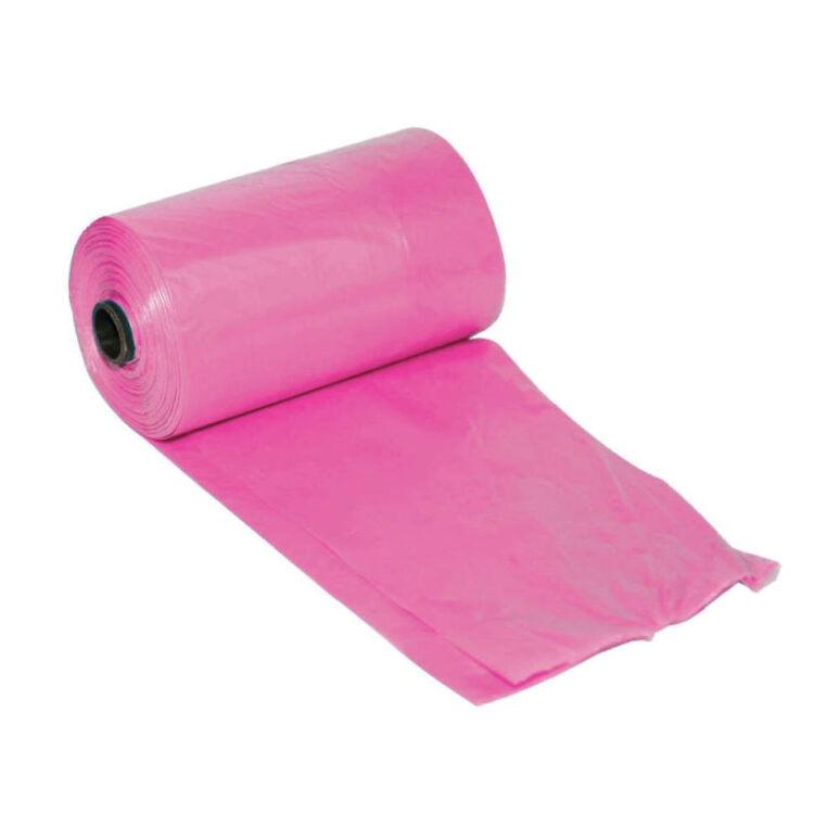 DOG WASTE BAGS PINK 3X20