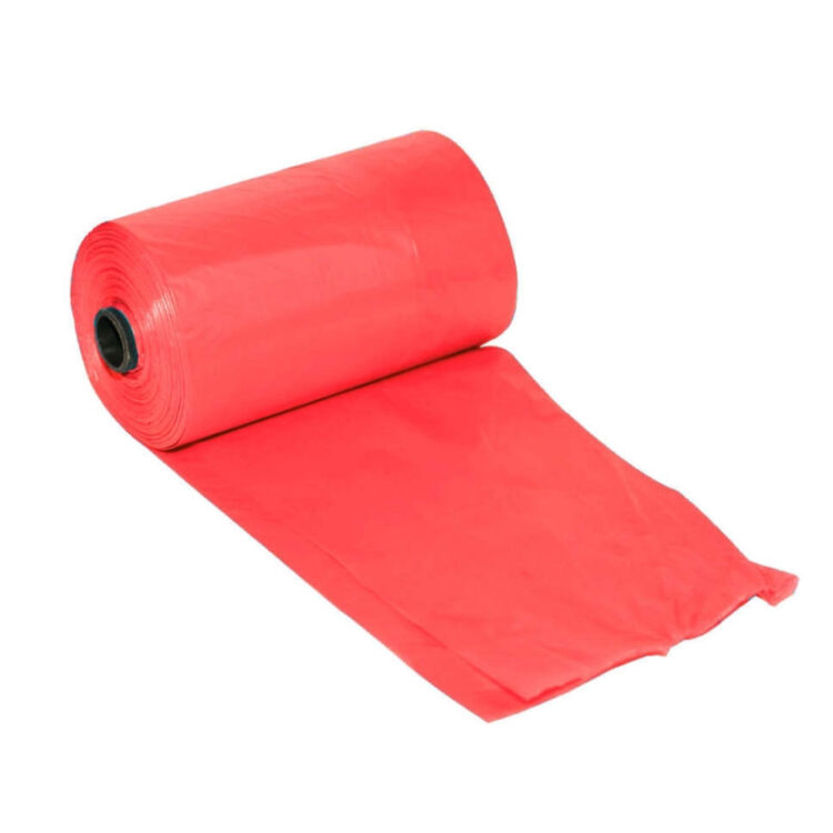 DOG WASTE BAGS RED 3X20