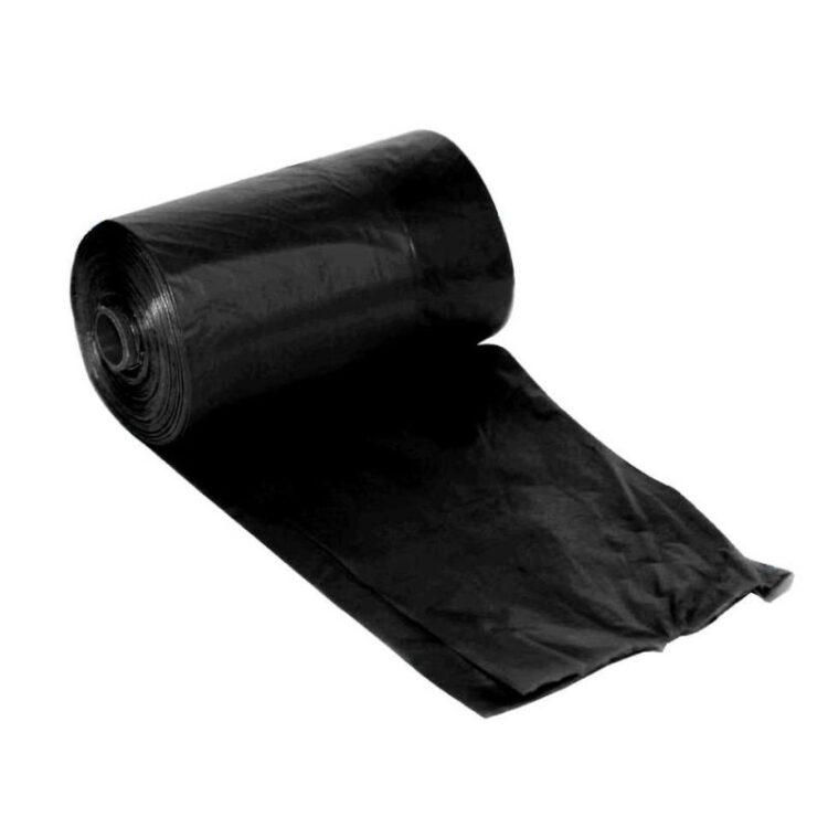 DOG WASTE BAGS BLACK 3X20