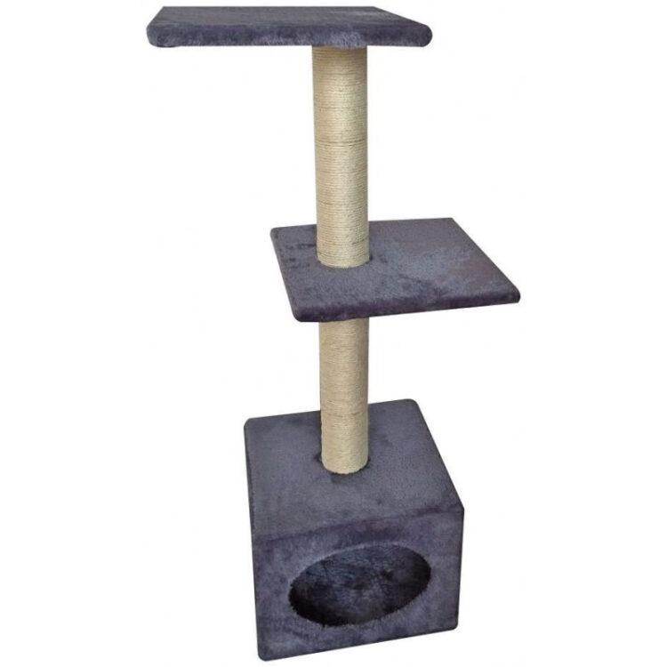 CATSCRAPER MUNICH GREY 35x35x103 cm
