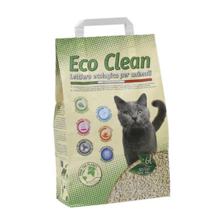 CAT LITTER ECO CLEAN 6 L