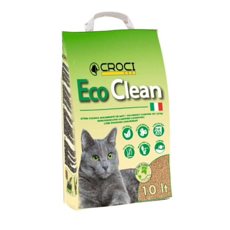 CAT LITTER ECO CLEAN 10 L