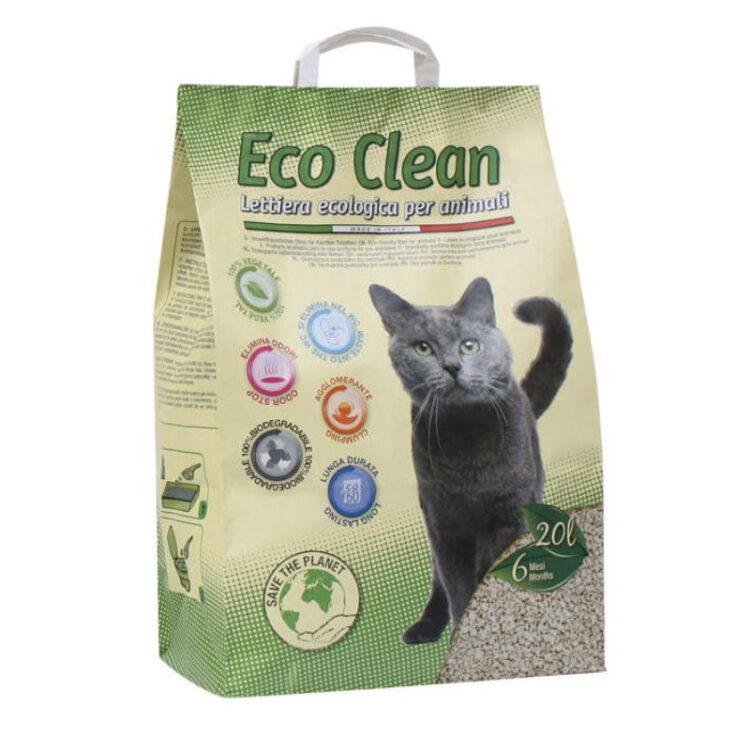 CAT LITTER ECO CLEAN 20 L