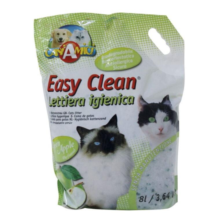 CAT LITTER EASY CLEAN 3,64 KG./8 L. GREEN APPLE