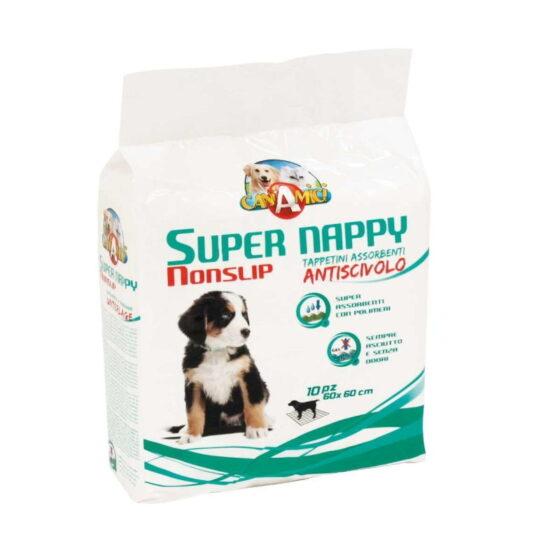 ANTI-SLIP DOG ABSORBENT SUPER NAPPY 60X60 10PCS