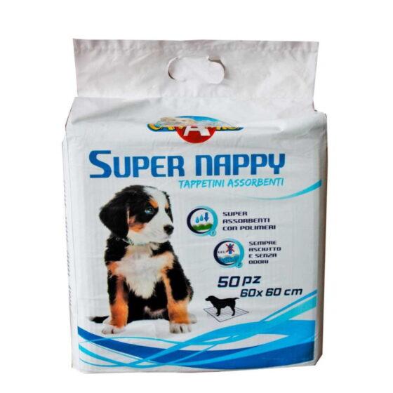 DOG ABSORBENT SUPER NAPPY 60X60 50pcs