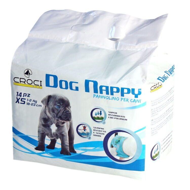 DOG NAPPY XS PCS.14