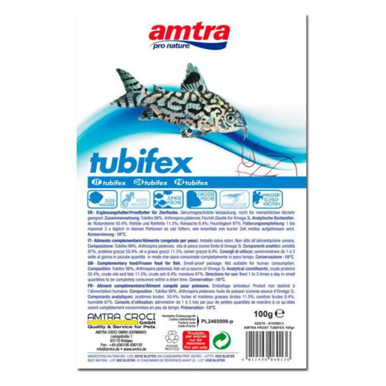 AMTRA FROST BLISTER TUBIFEX 100GR