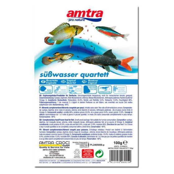 AMTRA FROST BLISTER TROPICAL QUARTET 100GR