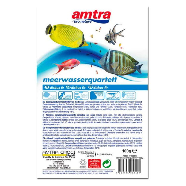 AMTRA FROST BLISTER SEA QUARTET 100GR