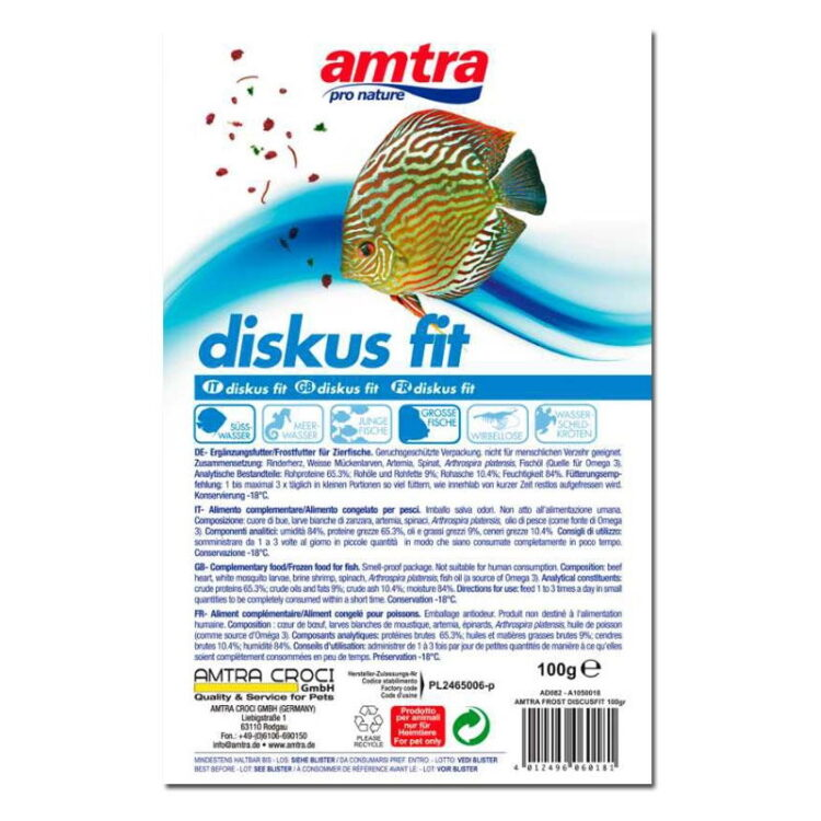 AMTRA FROST BLISTER DISCUS FIT 100GR