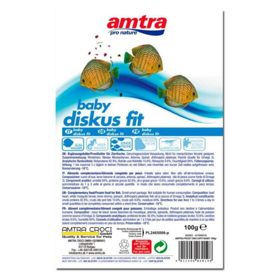 AMTRA FROST BLISTER DISCUS FIT BABY 100GR