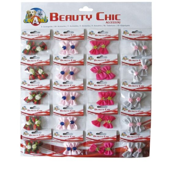 BOWS FOR DOGS CARD 3 PCS.2 .