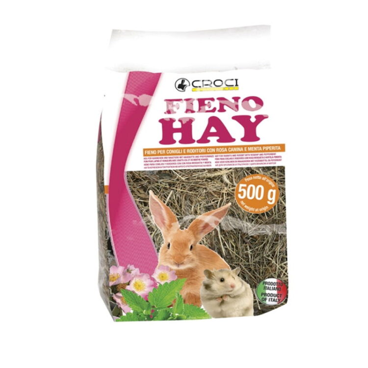 HAY WILD ROSE AND MINT 500 g