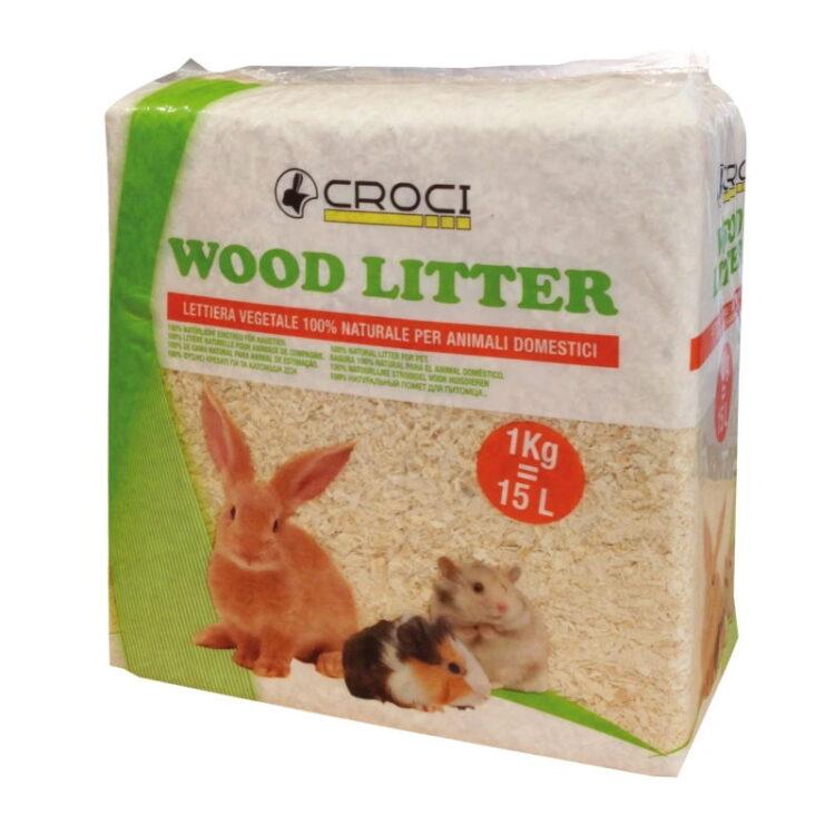 WOOD LITTER 4 KG/60 L