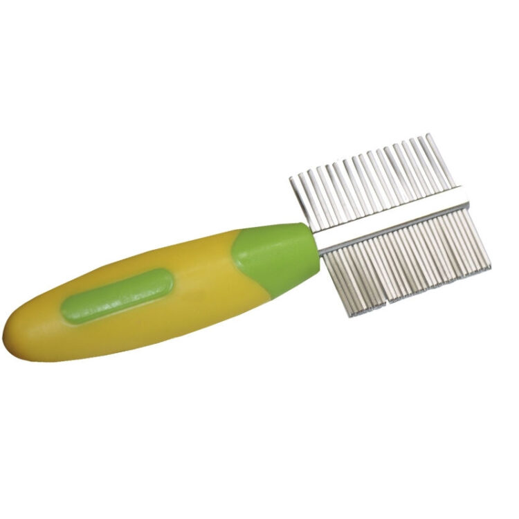 DOUBLE COMB FOR RODENTS 11,5x4 cm