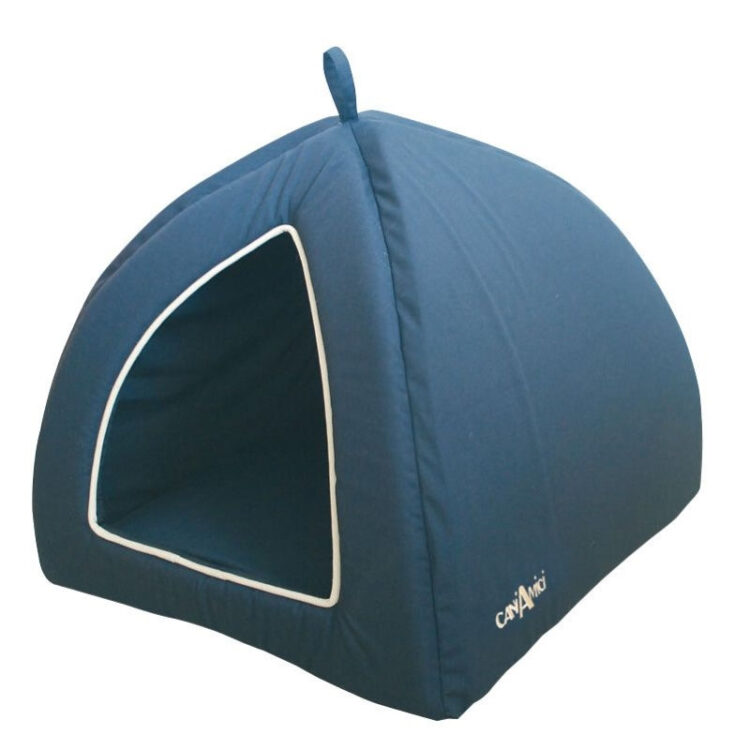 PYRAMID TEFLON CM 40X40X35 BLUE