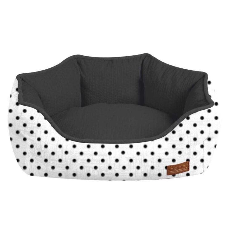 OVAL PET BED COZY IMPACT 60x50x20 cm