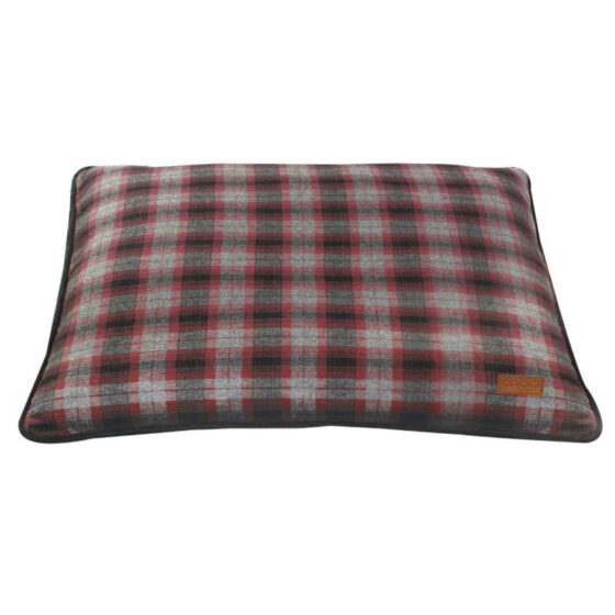 PILLOW RED CHESS 90x60 cm