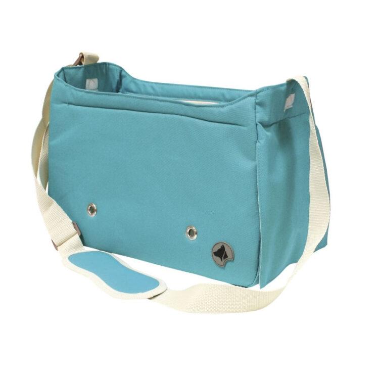 BAG MEGAN BLUE 40x20x27 cm