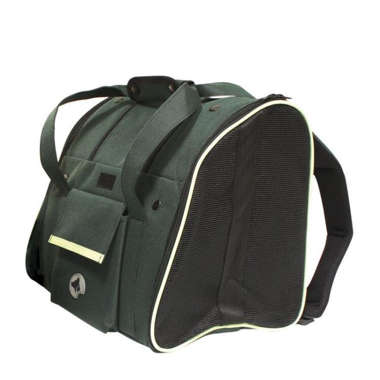 BACKPACK-CAR BAG SCARLETT GREEN 38x26x31cm