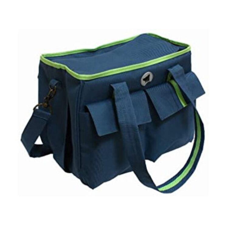 BAG ISABELLA BLUE/GREEN 38x27,5x20 cm