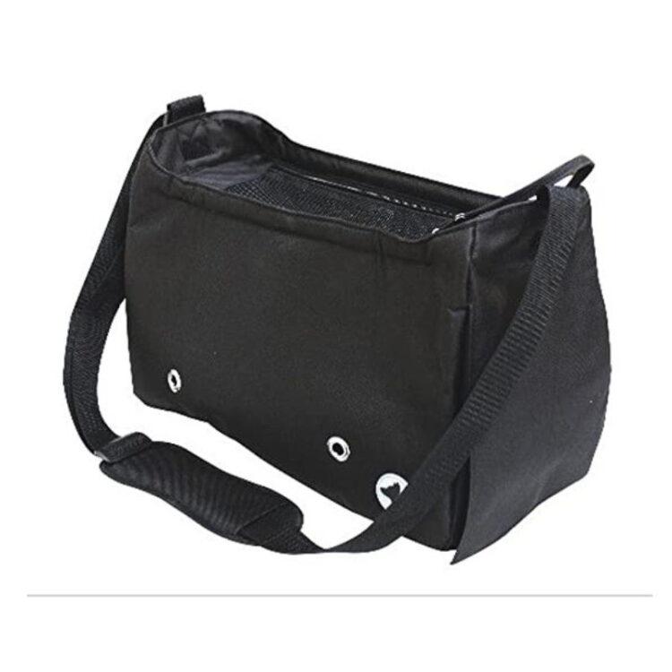 BAG MEGAN BLACK 40x20x27 cm