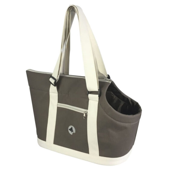 BAG GISELLE BROWN/BEIGE 49X23X31cm