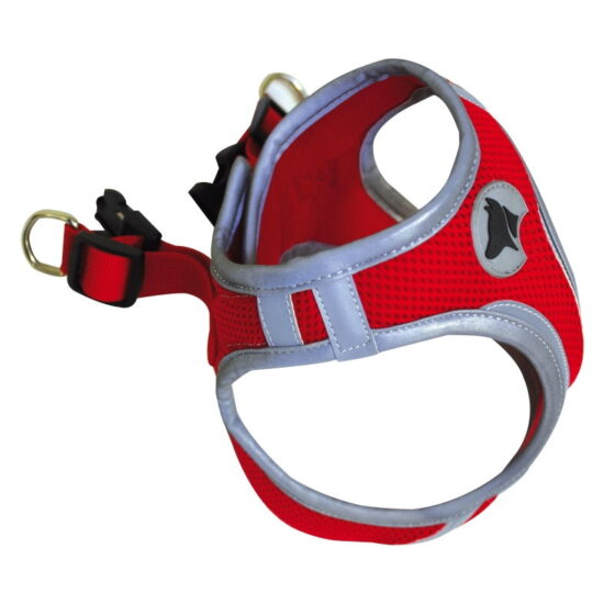 HIKING HARNESS REFLECTIVE XL RED