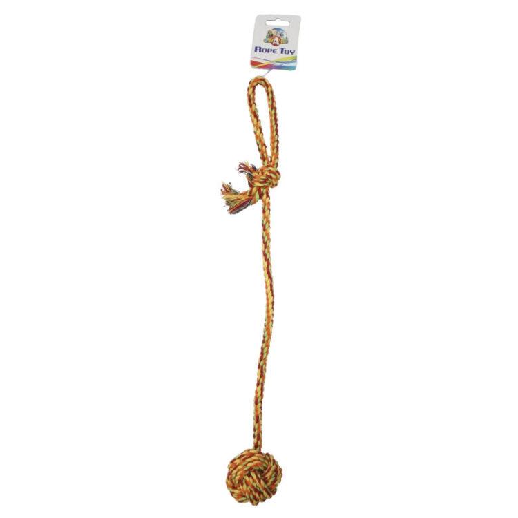 COTTON BONE W/ROPE BALL 55,8cm 116g o8cm