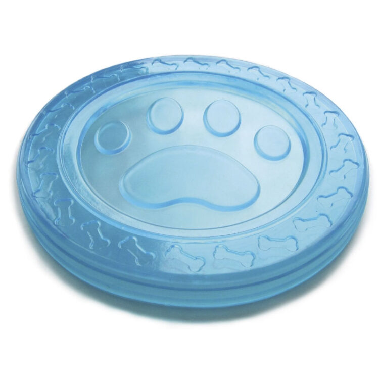 TPR RUBBER TOY FRISBEE 23 cm