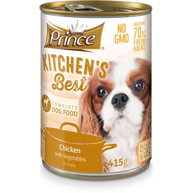 PRINCE KITCHENS DOG 415gr CHICKEN & VEGETABLES