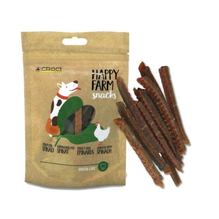 HAPPY FARM CHICKEN/SPINACH 80GR