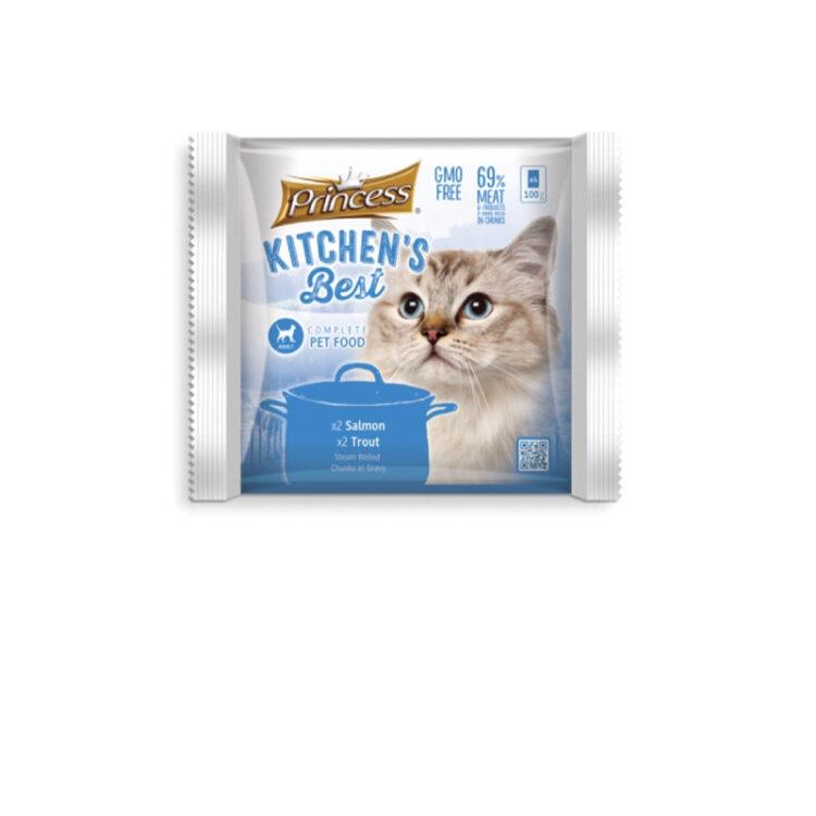 PRINCESS KITCHENS BEST CAT ΣΟΛΩΜΟΣ - ΠΕΣΤΡΟΦΑ 4 ΦΑΚΕΛΑΚΙΑ