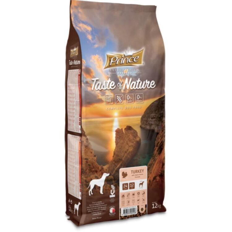 PRINCE TASTE OF NATURE DOG TURKEY 12kgr