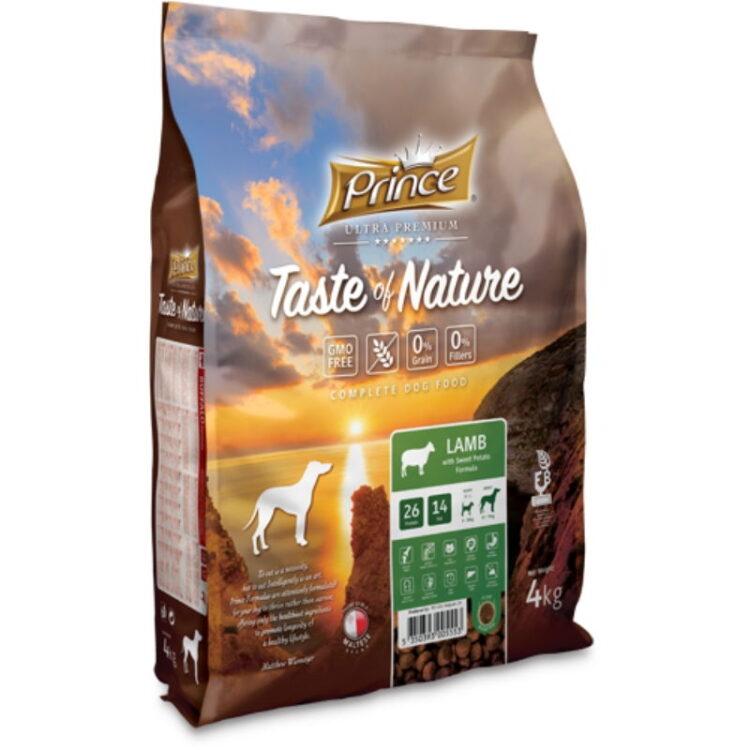 PRINCE TASTE OF NATURE DOG LAMB 4kgr