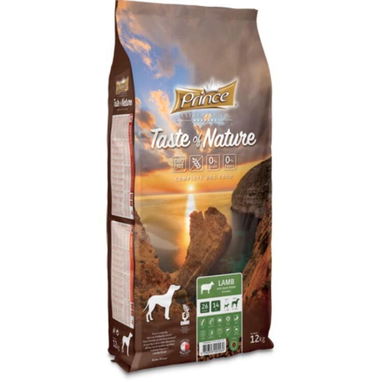 PRINCE TASTE OF NATURE DOG LAMB 12kgr