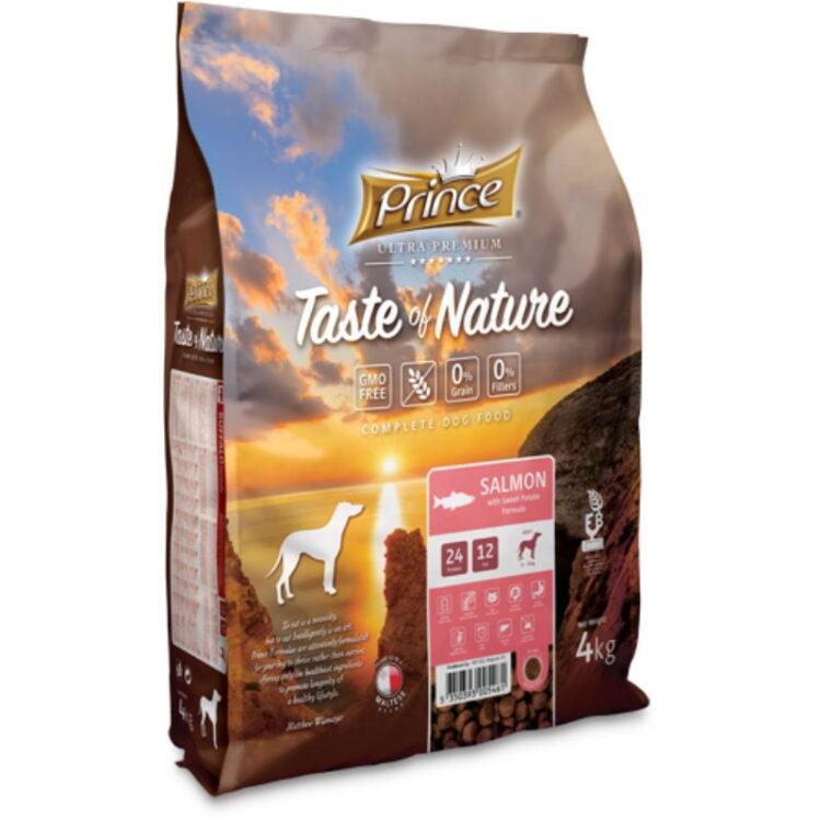 PRINCE TASTE OF NATURE DOG SALMON 4kgr