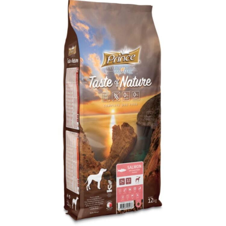 PRINCE TASTE OF NATURE DOG SALMON 12kgr