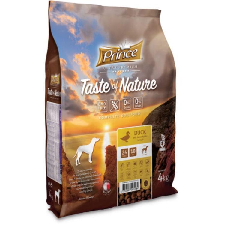 PRINCE TASTE OF NATURE DOG DUCK 4kgr