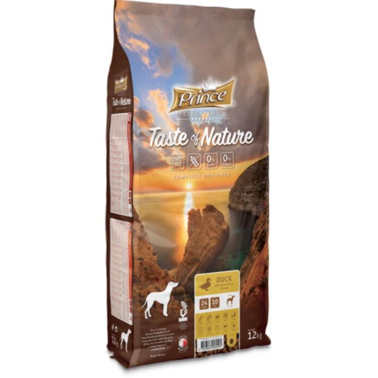 PRINCE TASTE OF NATURE DOG DUCK 12kgr