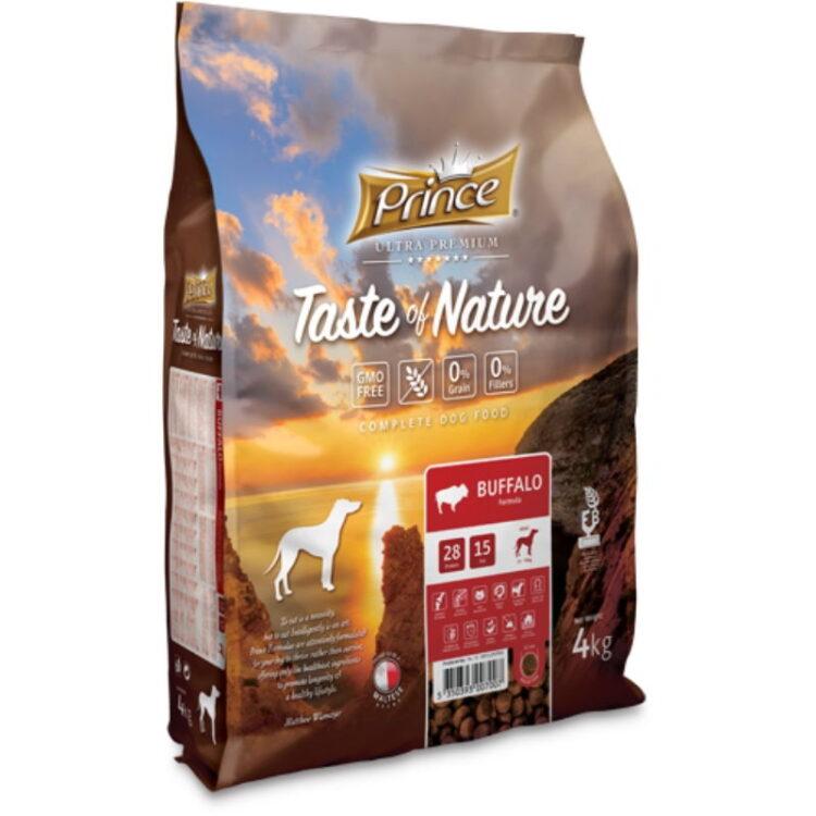PRINCE TASTE OF NATURE DOG BUFFALO 4kgr