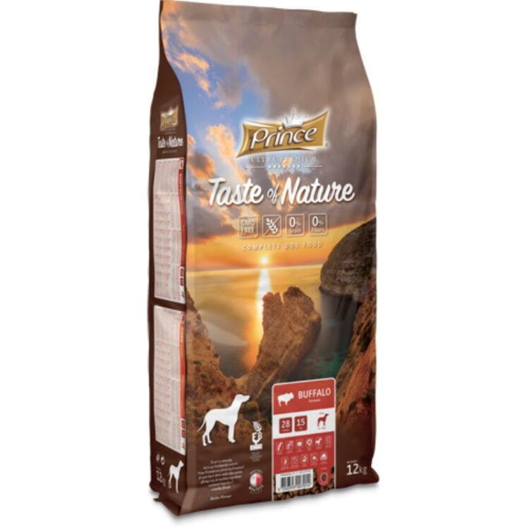 PRINCE TASTE OF NATURE DOG BUFFALO 12kgr