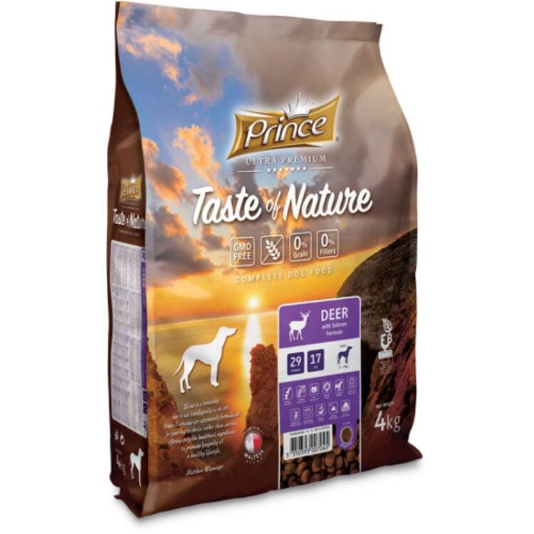 PRINCE TASTE OF NATURE DOG DEER 4kgr