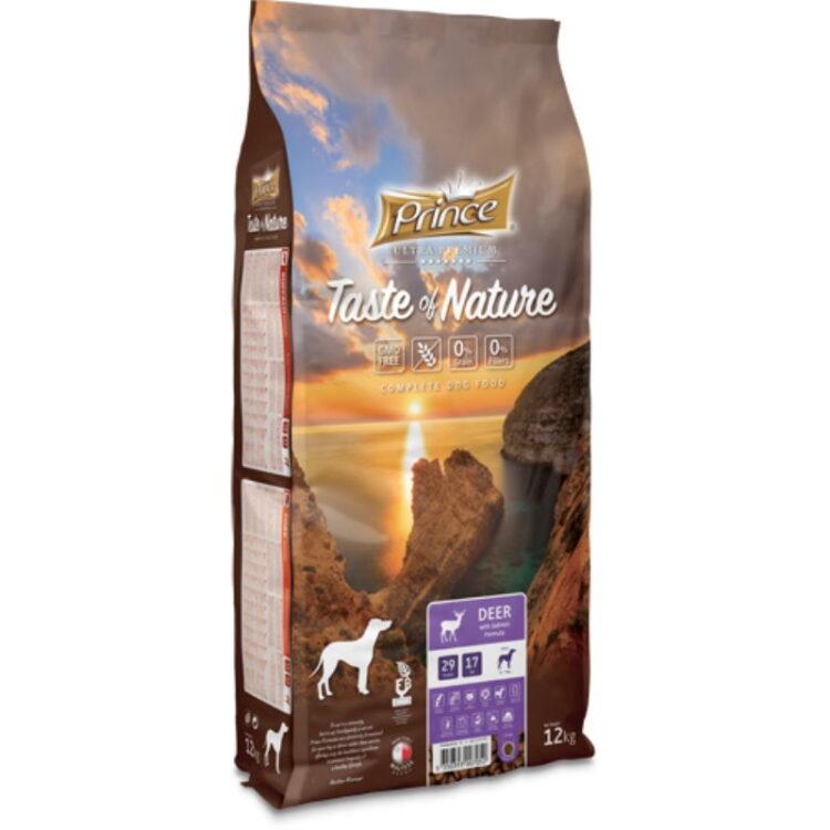 PRINCE TASTE OF NATURE DOG DEER 12kgr