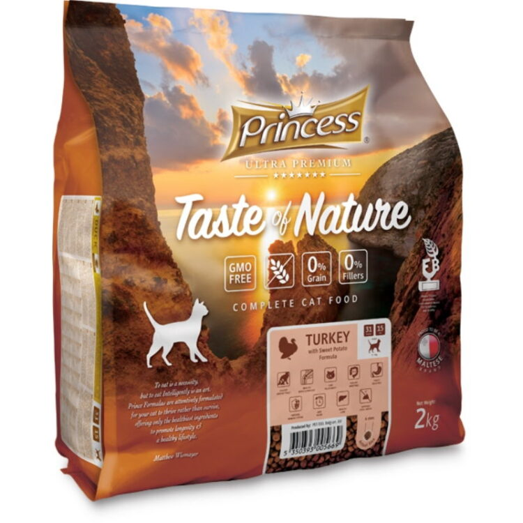 PRINCE TASTE OF NATURE CAT TURKEY 2kgr