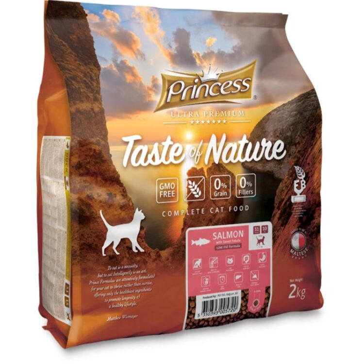 PRINCE TASTE OF NATURE CAT SALMON 2kgr